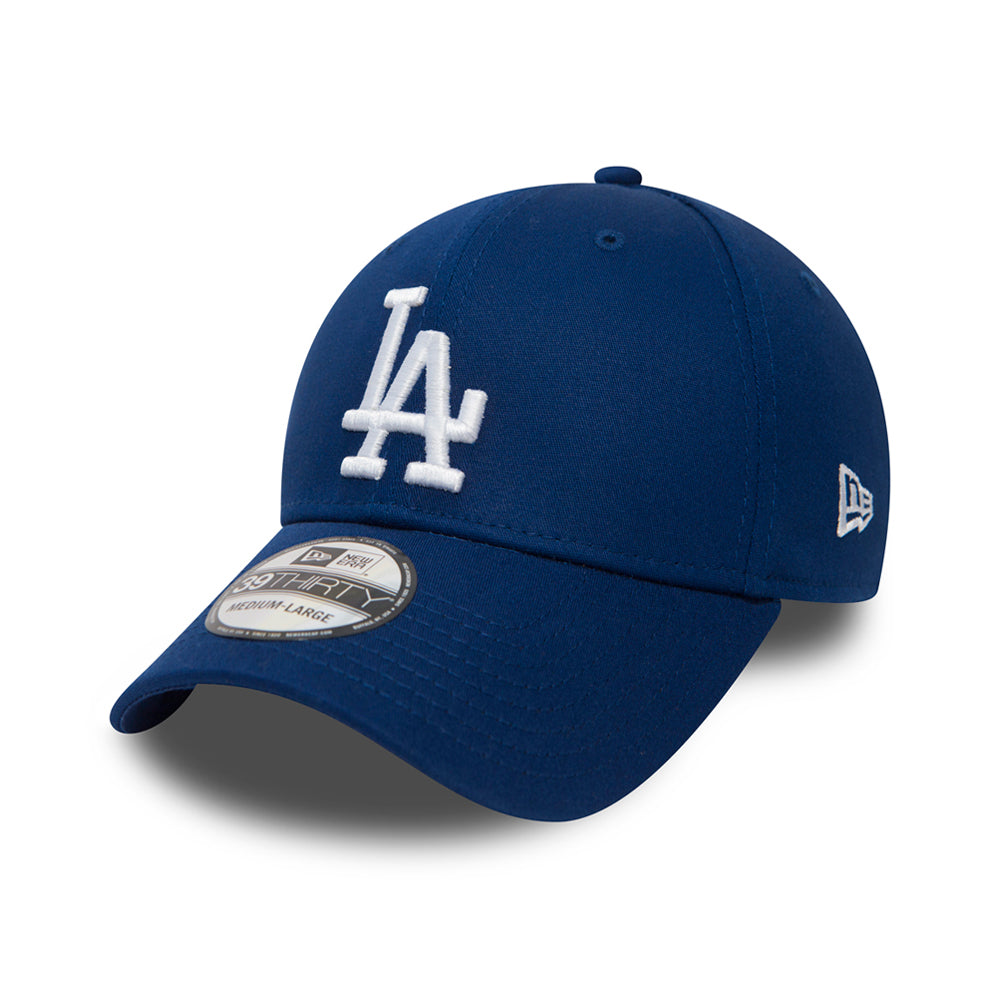 New Era MLB Los Angeles LA Dodgers 39Thirty Essential Flexfit Royal Blue White Konge Blå Hvid 11405494