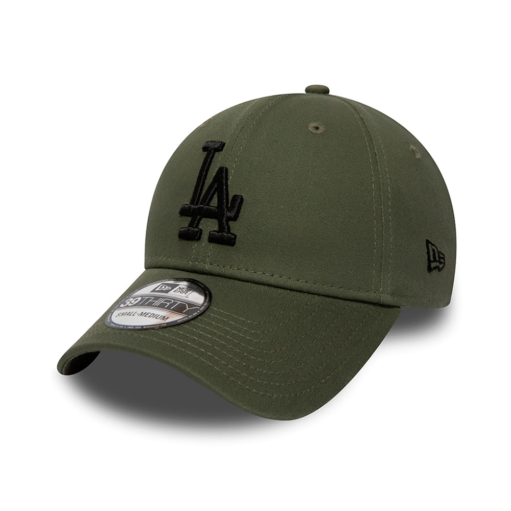 New Era LA Los Angeles Dodgers 39thirty Flexfit Olive Grøn dbd6e852f7fd