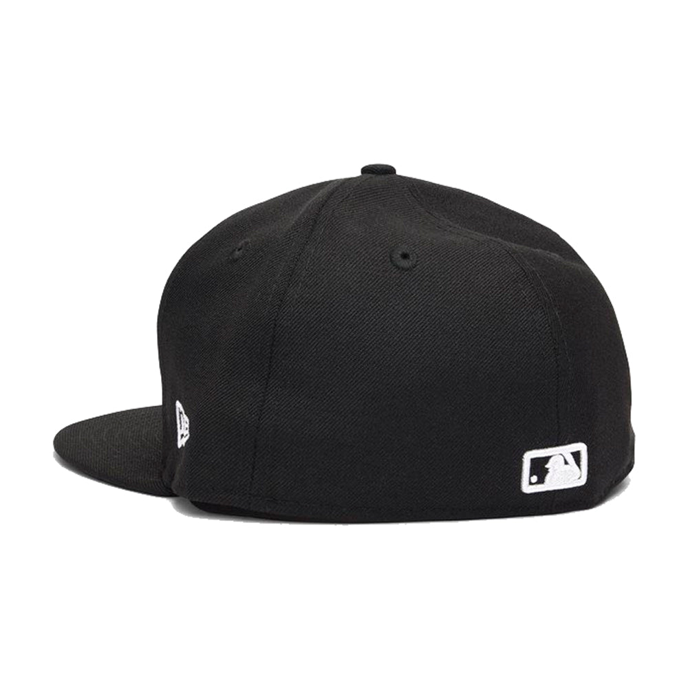 New Era La Los Angeles Dodgers 59Fifty Fitted Black Sort