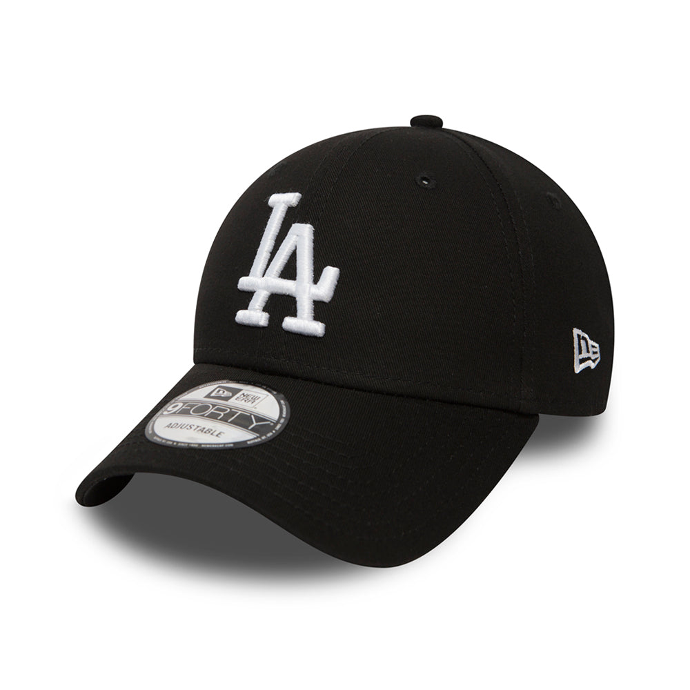 New Era LA Dodgers 9Forty Justerbar Black Sort