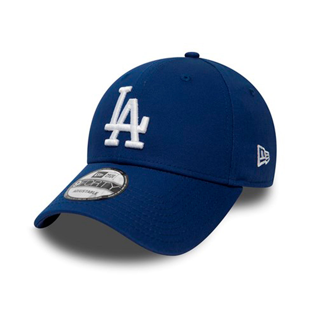 New Era MLB LA Los Angeles Dodgers 9Forty Essential Adjustable Royal Blue Blå