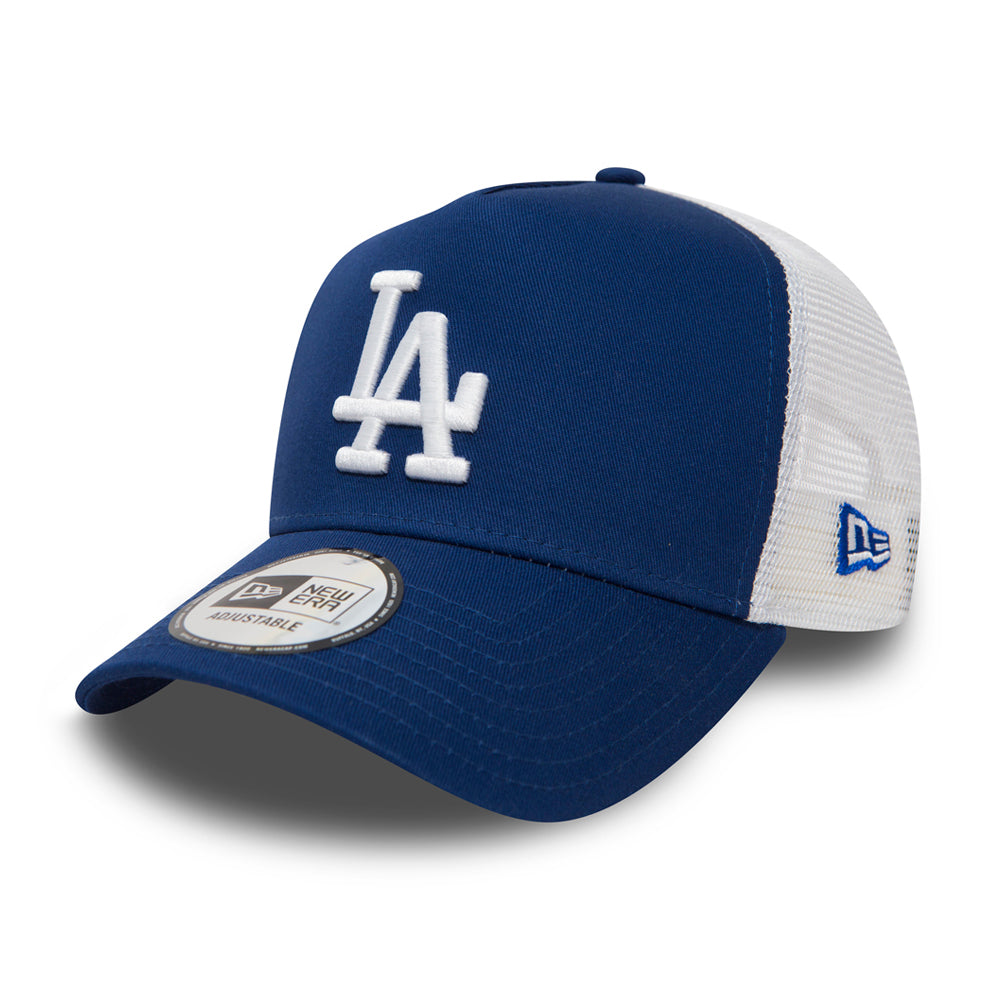 New Era MLB Los Angeles LA Dodgers Clean Trucker/Snapback Blue White Blå Hvid 11405497