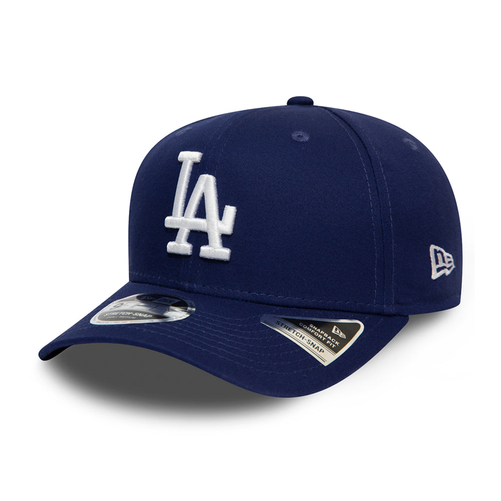 New Era Los Angeles LA Dodgers Stretch Snap 9Fifty Snapback Blue Blå