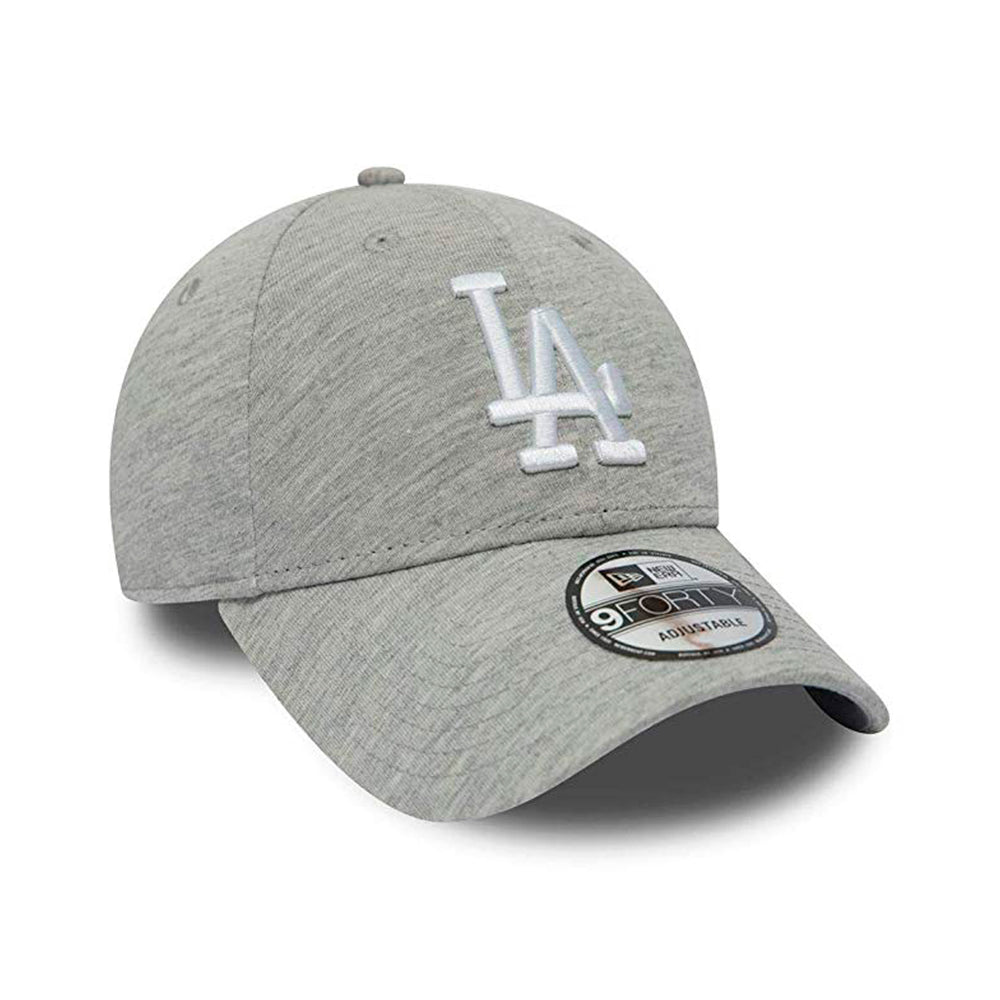 New Era LA Los Angeles Dodgers Winterised 9Forty Justerbar Grey White Grå Hvid