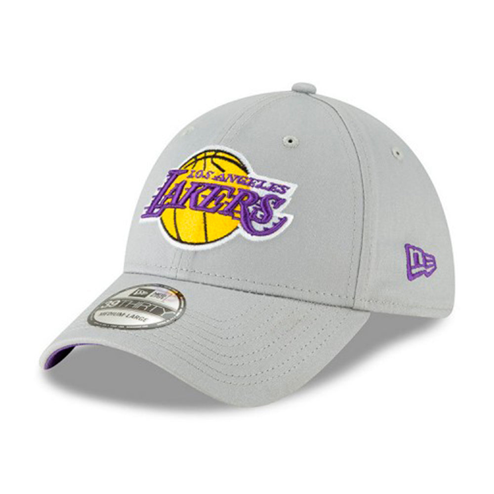 New Era Los Angeles LA Lakers 39Thirty Flexfit Grey Grå