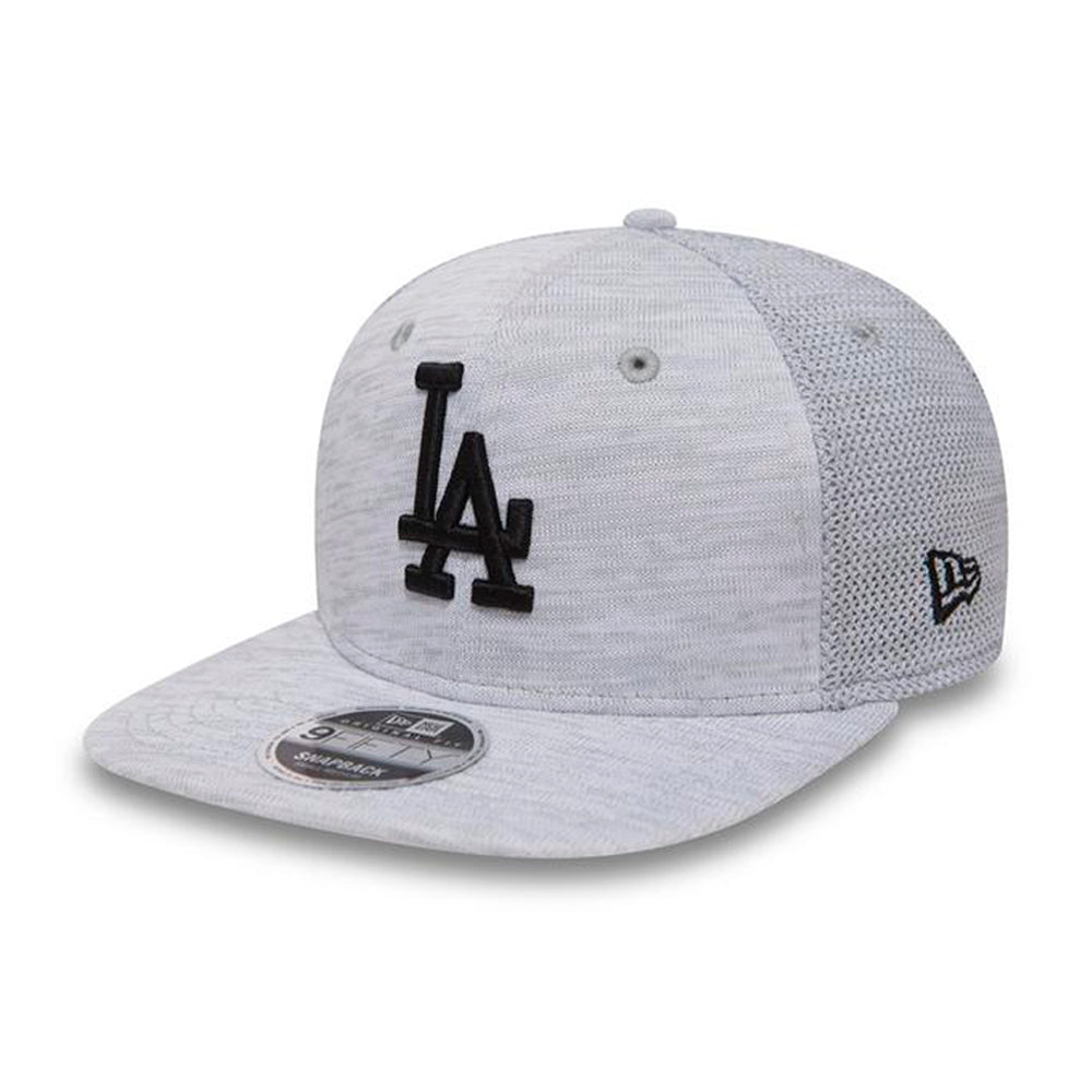 New Era MLB La Dodgers Engineered 9Fifty Snapback White Black Hvid Sort