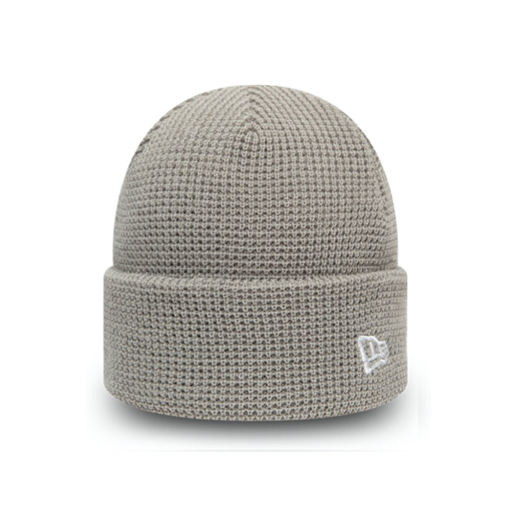 New Era NE Short Knit Beanie Grey Grå 12490061