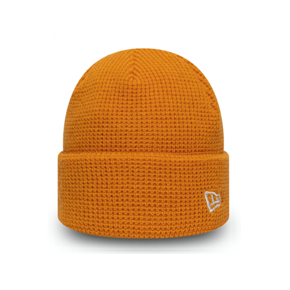 New Era NE Short Knit Beanie Tango Orange 12490058