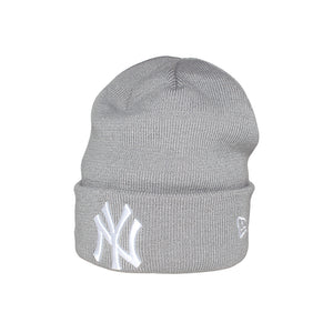 New Era NY Basic Cuff Knit Fold Hue Grey Grå