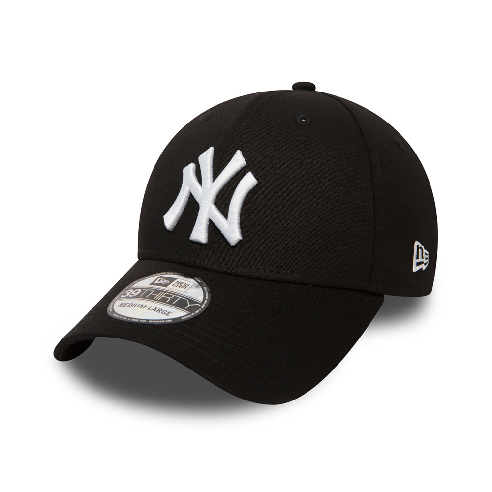 New Era NY New York Yankees 39thirty Flexfit Black Sort
