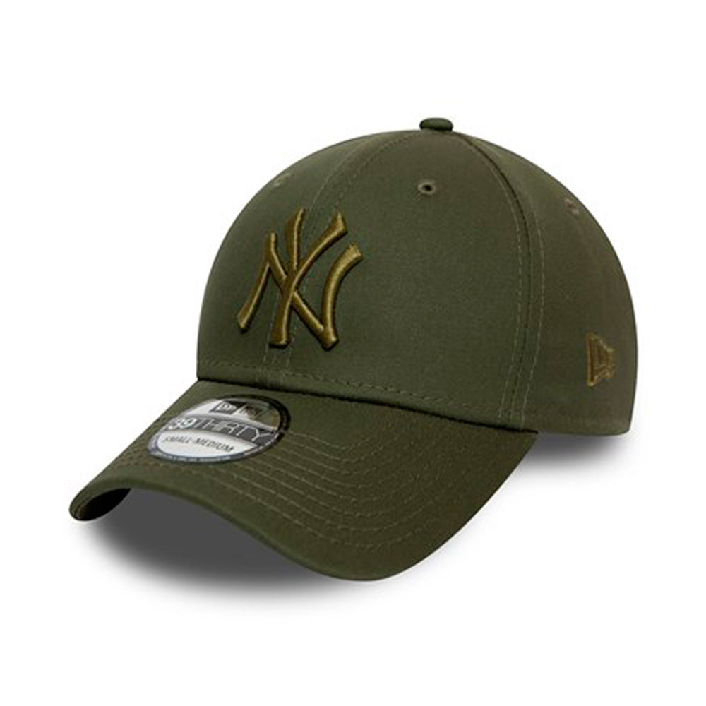 New Era MLB New York NY Yankees 39thirty Flexfit Green Olive Grøn