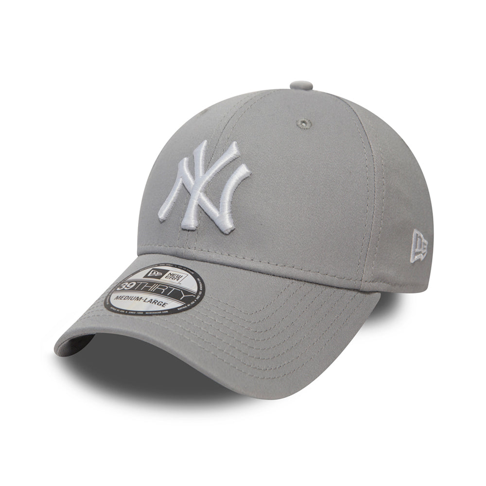 New Era NY Yankees 39thirty Flexfit Grey Grå
