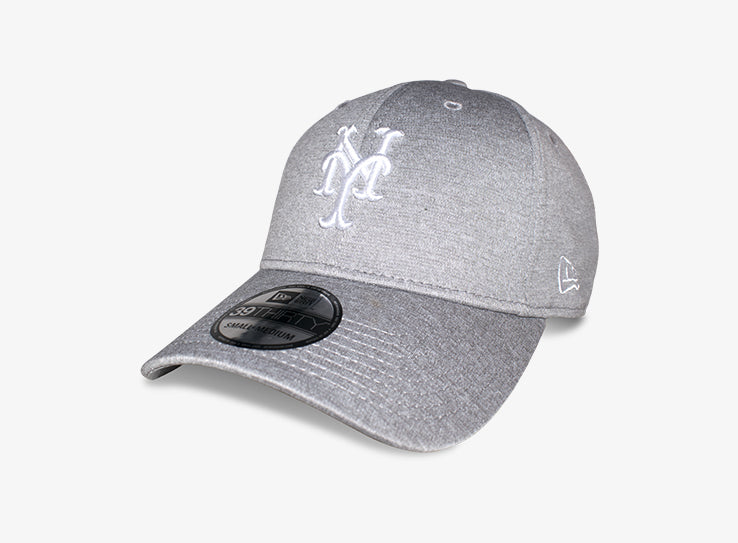 New Era NY New York Yankees 39thirty Flexfit Heather Grey Grå