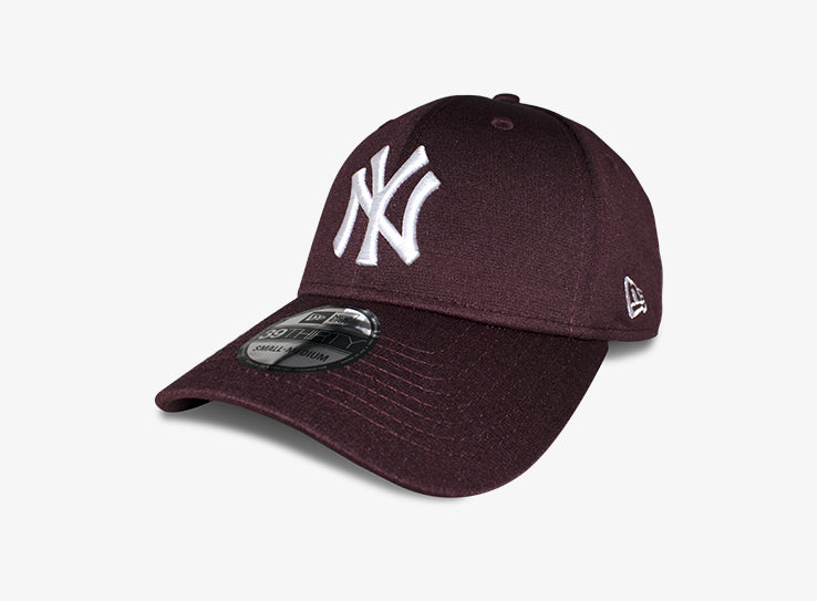 New Era NY New York Yankees 39thirty Flexfit Maroon Rød