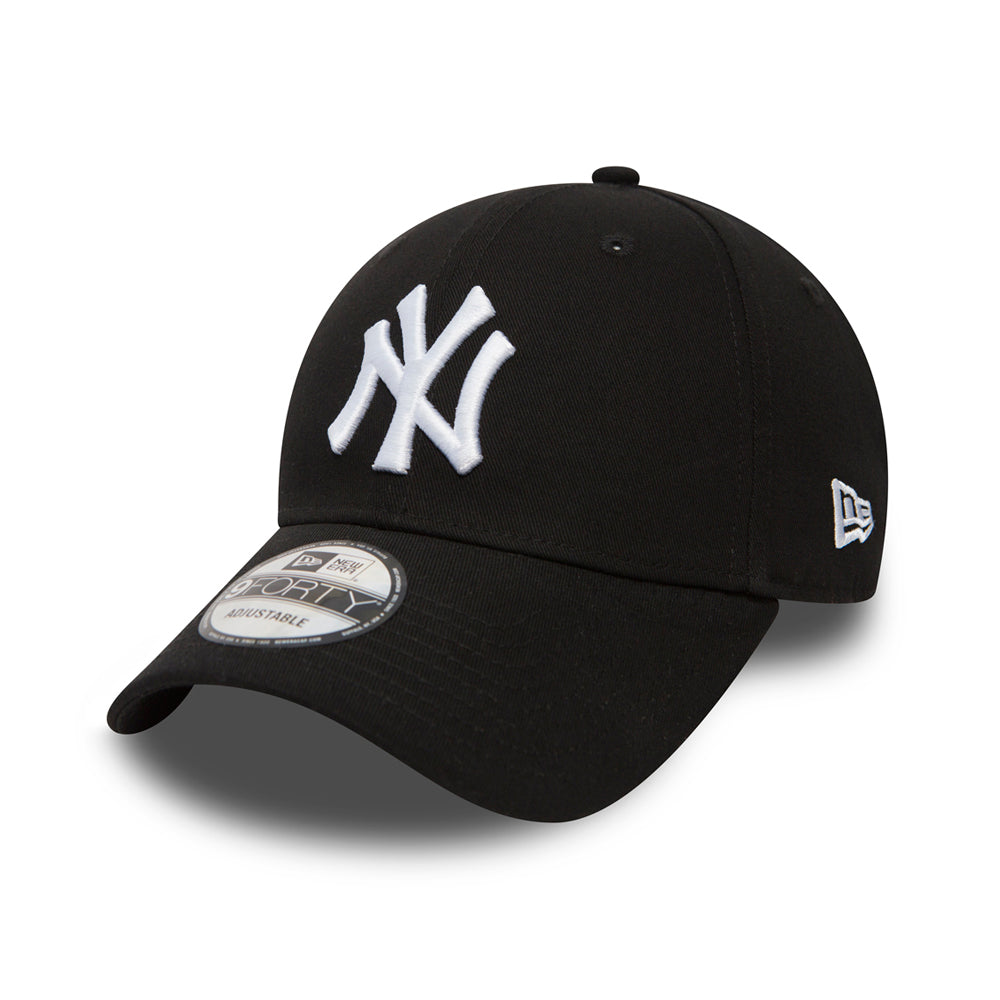 New Era NY Yankees 9Forty Justerbar Black Sort