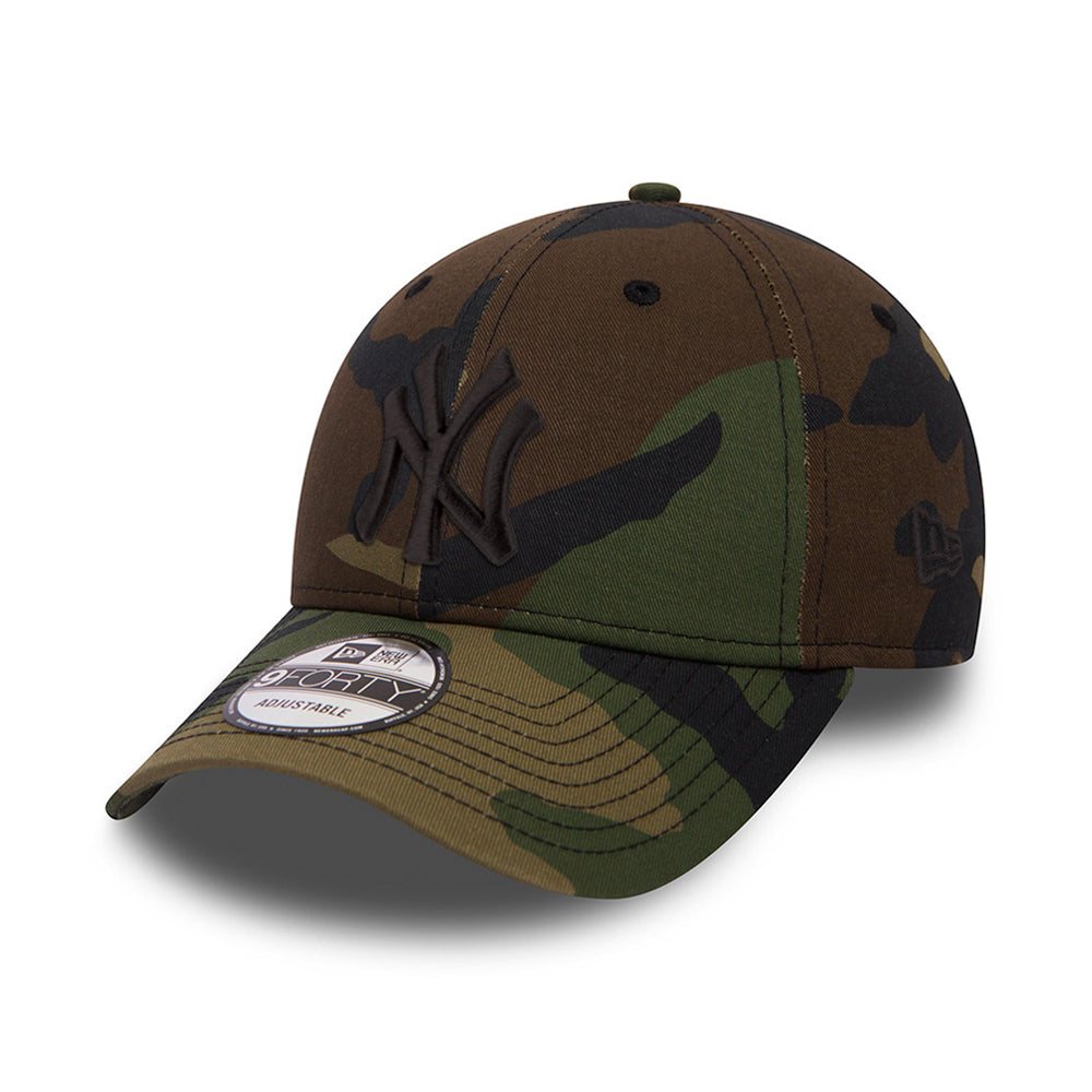 New Era NY New York Yankees 9Forty Justerbar Green Camo Grøn