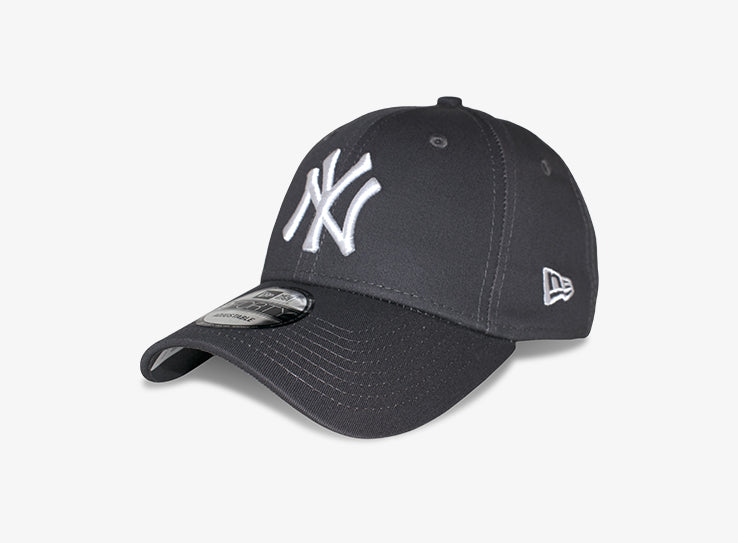 New Era NY Yankees 9Forty Justerbar Dark Grey Mørkegrå
