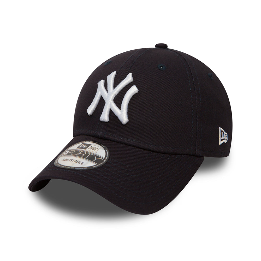 New Era NY Yankees 9Forty Justerbar Dark Navy Blå
