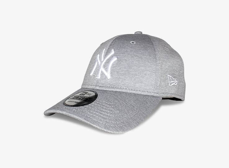 New Era NY New York Yankees 9Forty Justerbar Heather Grey Grå