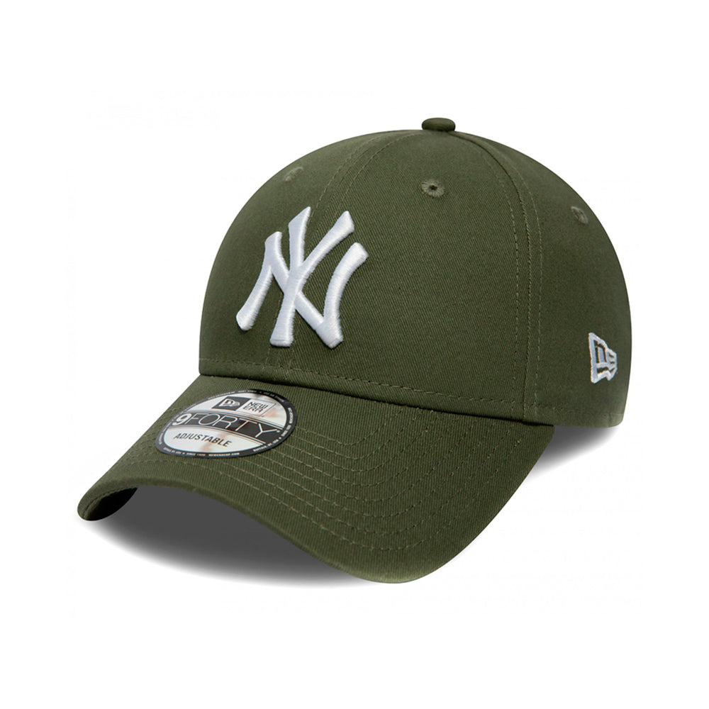New Era NY New York Yankees 9Forty Adjustable Justerbar Olive Green Grøn