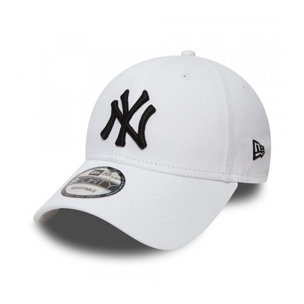 New Era MLB New York NY Yankees 9Forty Adjustable Justerbar White Hvid