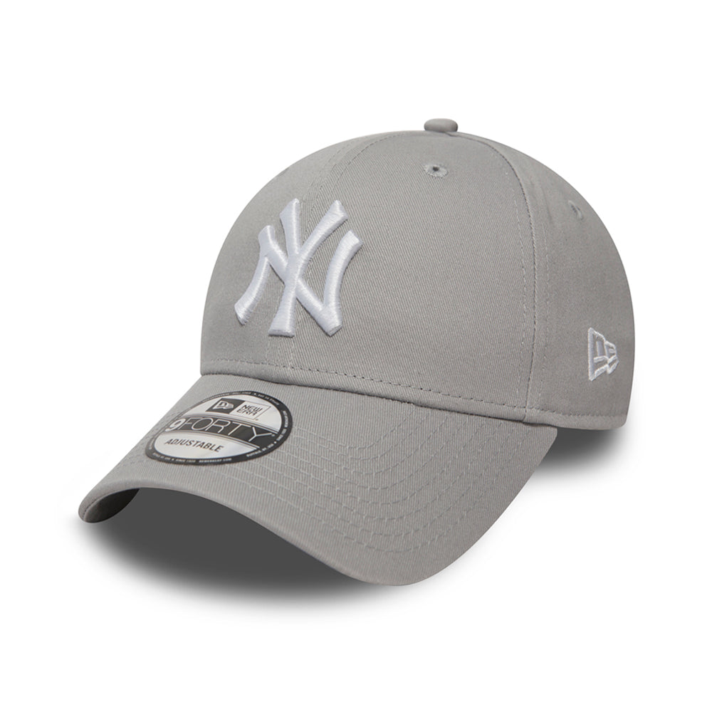 New Era NY Yankees 9Forty Justerbar Grey Grå