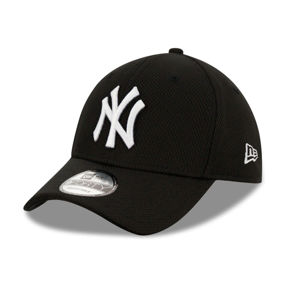 New Era MLB New York Yankees Diamond Era 9Forty Adjustable Black White Sort Hvid 12523907
