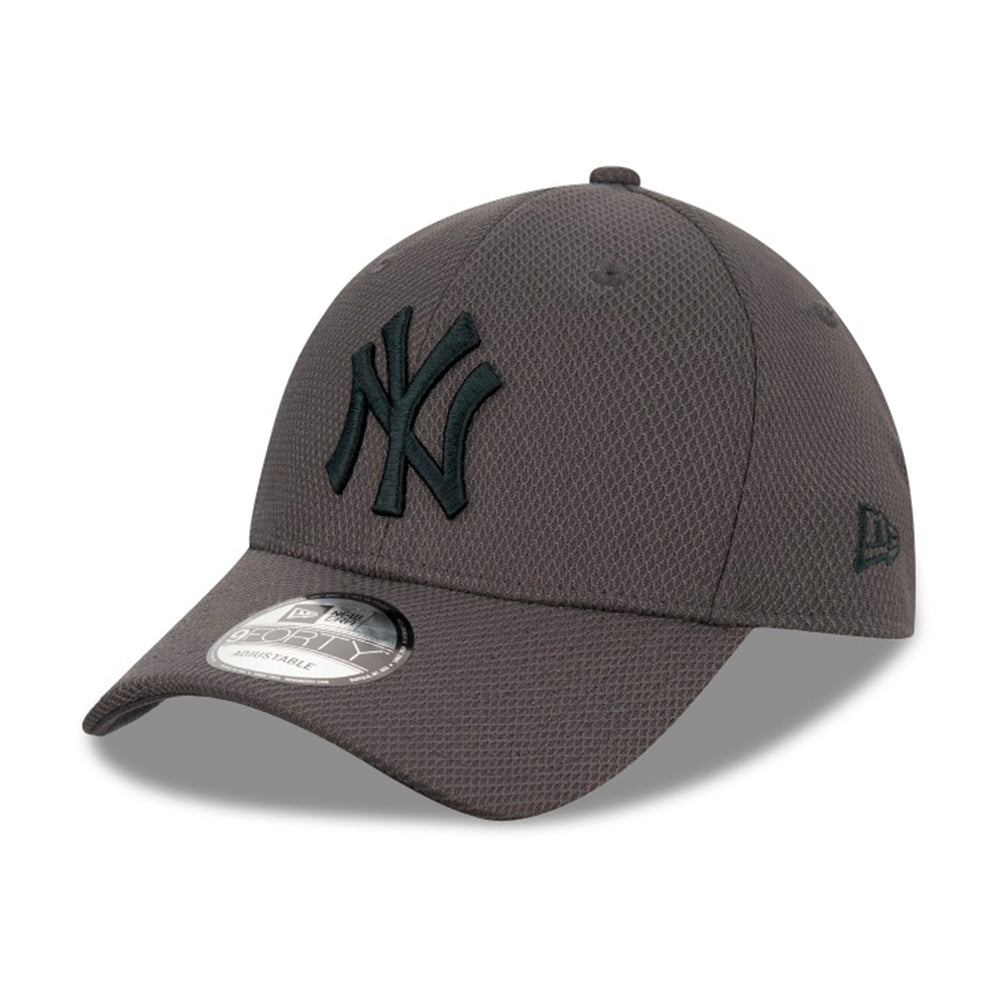 New Era MLB New York Yankees Diamond Era 9Forty Adjustable Grey Grå 12523906