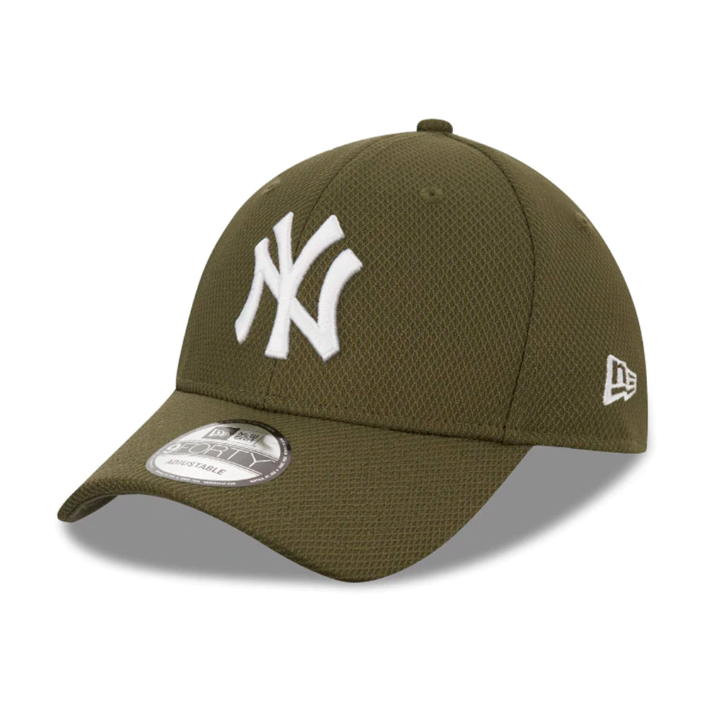 New Era MLB New York Yankees Diamond Era 9Forty Adjustable Olive Grøn 12523904