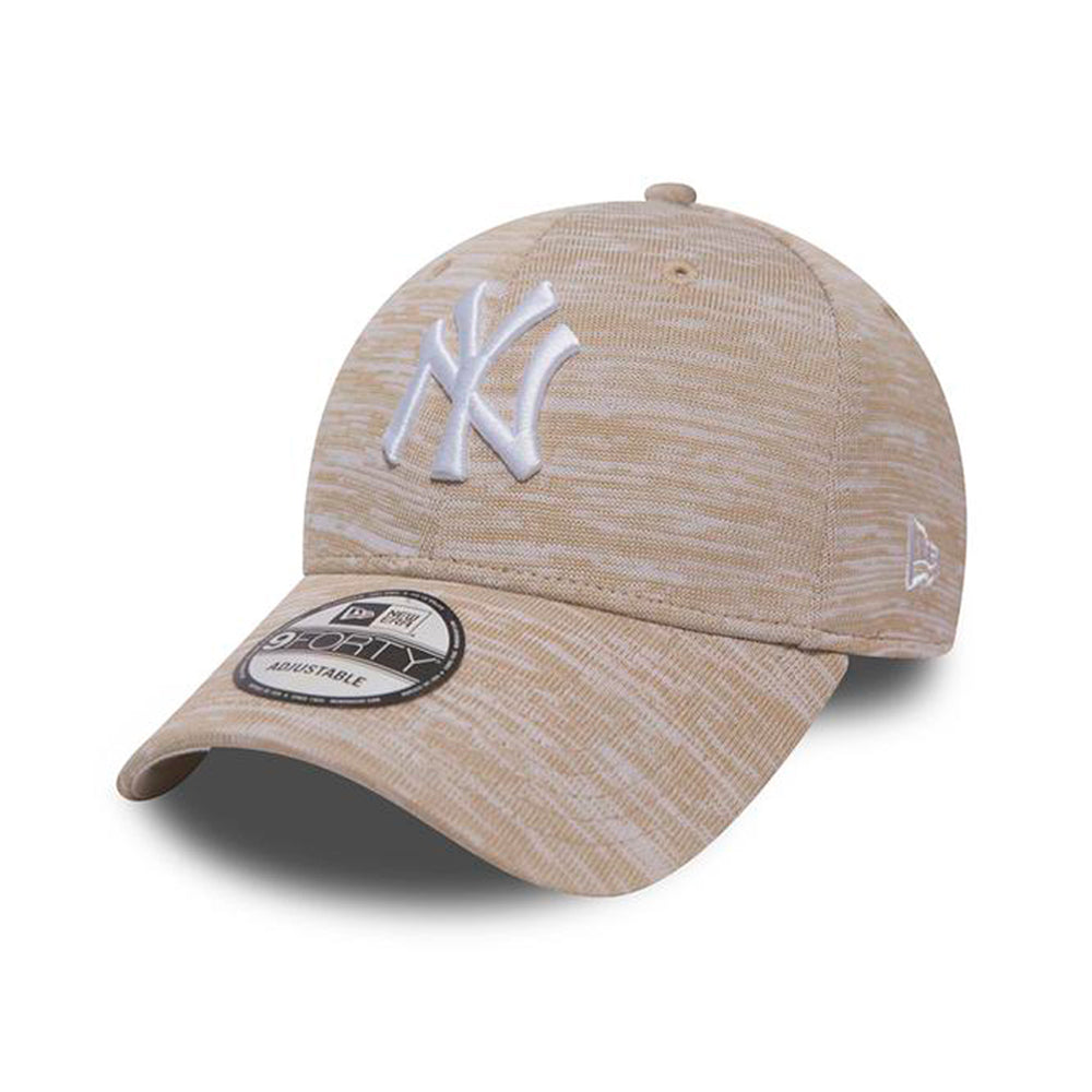 New Era MLB NY New York Yankees Engineered 9Forty Adjustable Justerbar Stone White Sten Hvid
