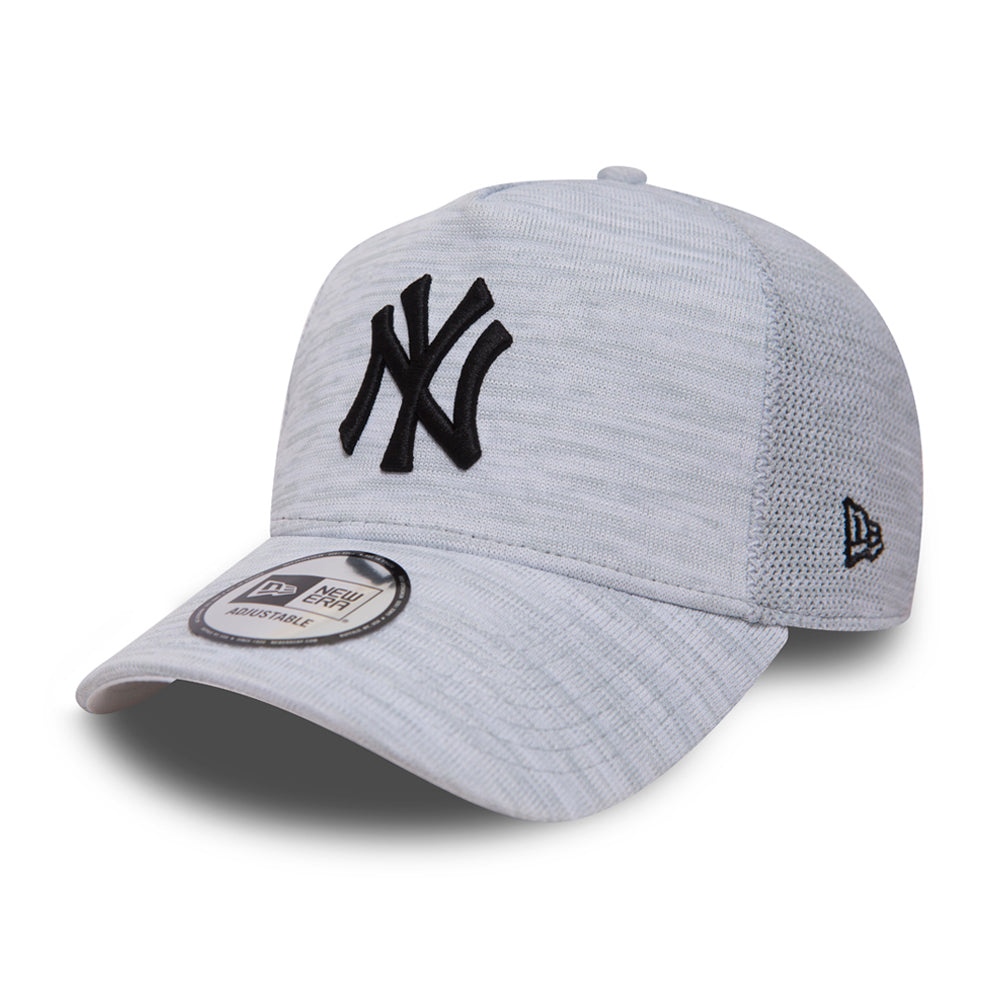 New Era MLB NY New York Yankees Engineered 9Forty Snapback White Black Hvid Sort