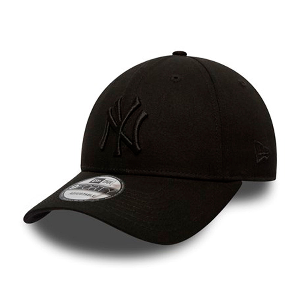 New Era MLB New York NY Yankees 9Forty Adjustable Black on Black Sort