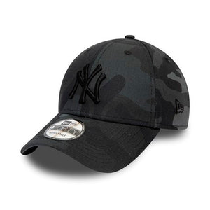 New Era MLB New York NY Yankees 9Forty Adjustable Camo Camouflage Grey Grå