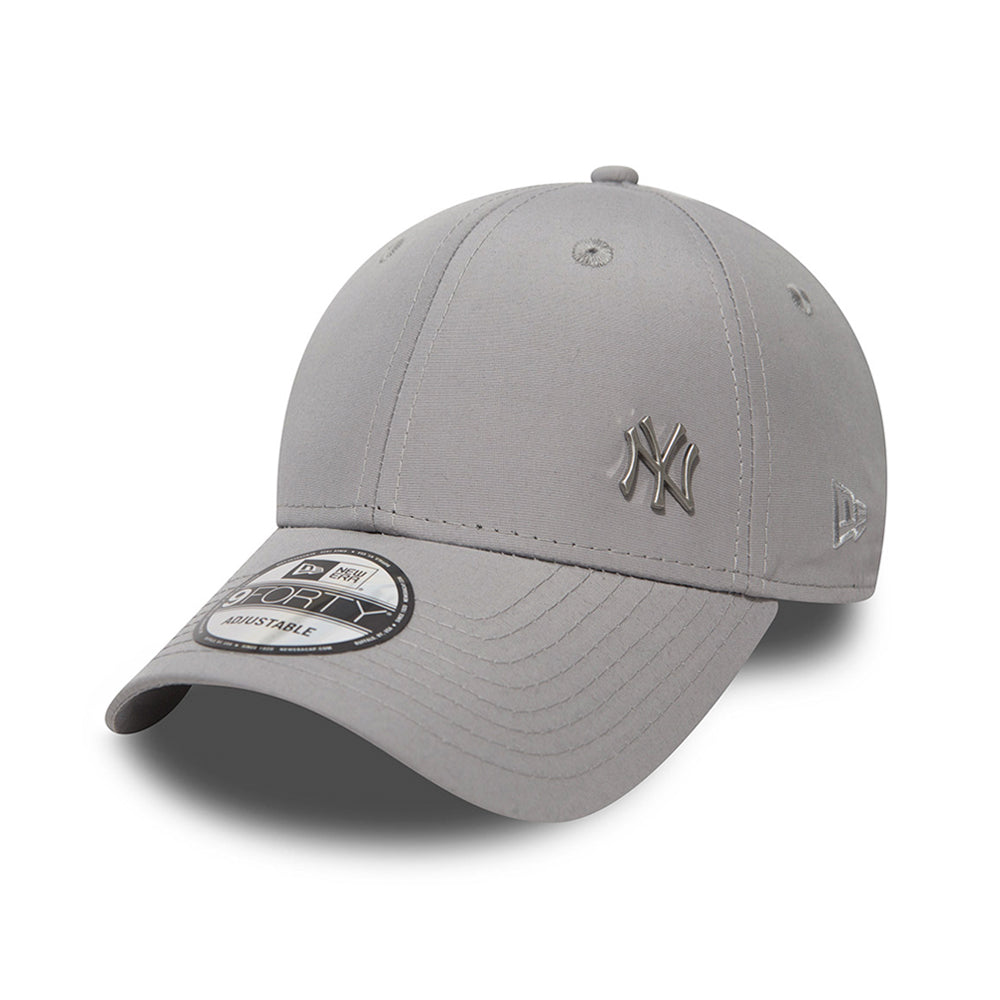 New Era NY New York Yankees Flawless 9Forty Adjustable Grey Grå