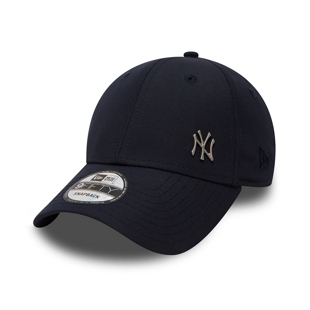 New Era NY New York Yankees Flawless 9Forty Adjustable Justerbar Navy Mørkeblå Blå