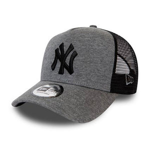 New Era MLB New York NY Yankees Jersey Essential Trucker Snapback Grey Black Grå Sort 12381105