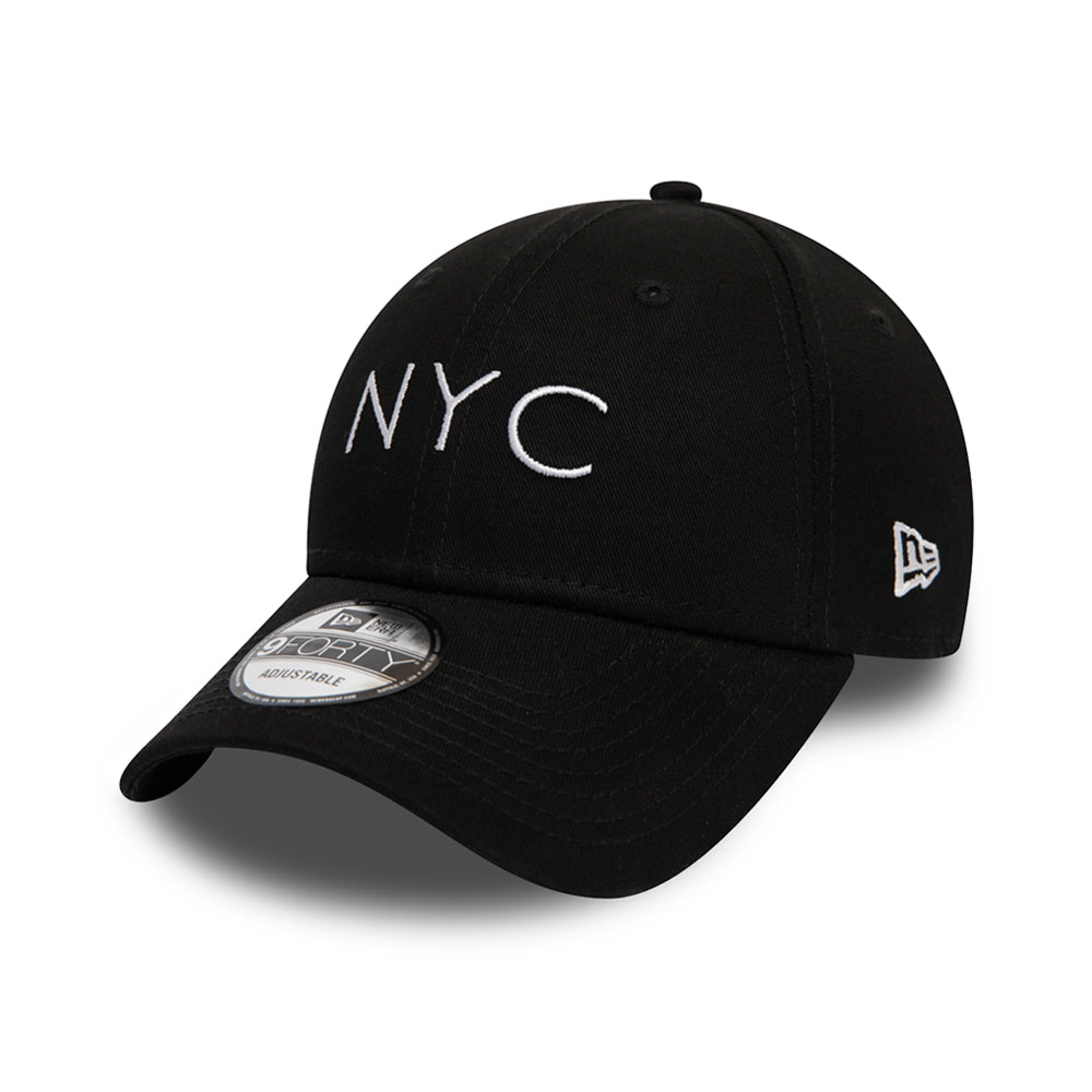 New Era NYC Essential 9Forty Adjustable Black Sort