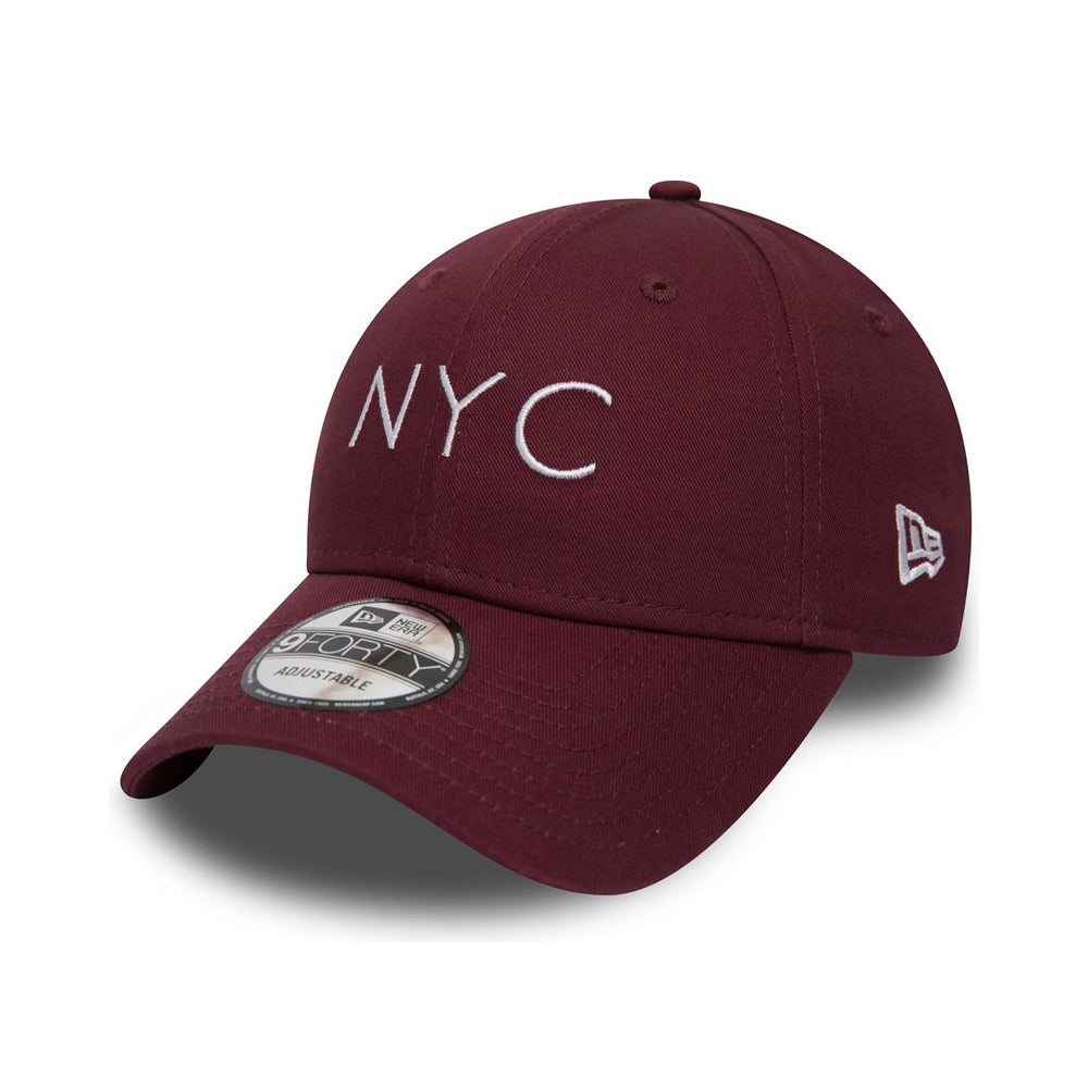 New Era - NYC Essential 9Forty - Adjustable - Maroon