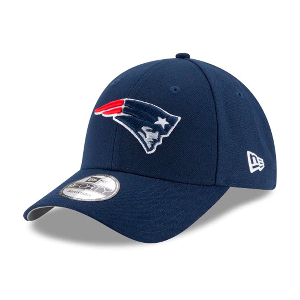 New Era NFL New England Patriots 9Forty The League Adjustable Velcro Blue Blå