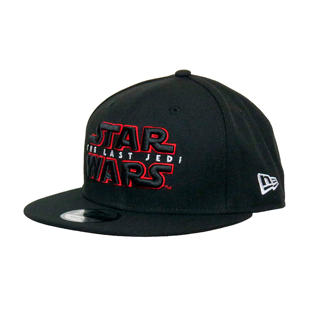 New Era Star Wars 9Fifty Snapback Black Sort The Last Jedi