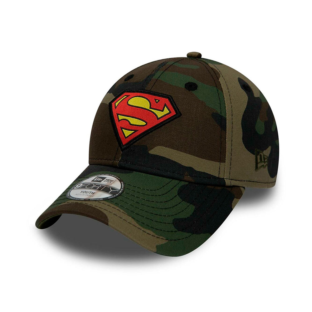 New Era Character Superman 9Forty Youth Adjustable Camo