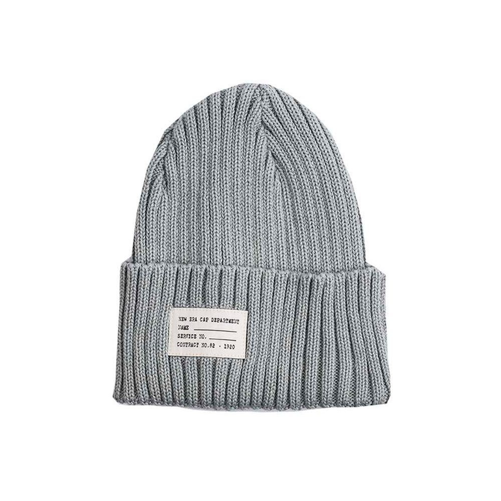 New Era Watch Knit Beanie Fold Hue Dolphin Grey Grå
