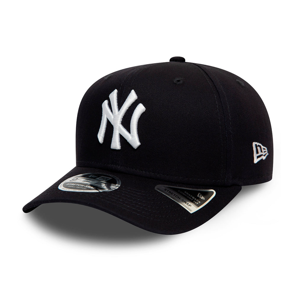New Era MLB New York Yankees 9Fifty Stretch Snap Snapback Navy White Blå Hvid 12134666