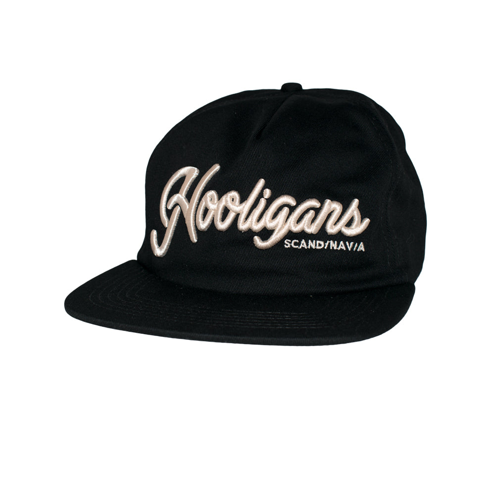 Northern Hooligans Scandinavian Unstructured Snapback Black Sort