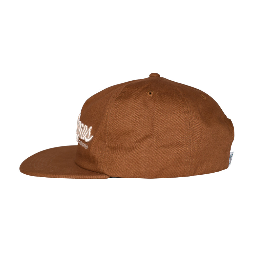 Northern Hooligans Scandinavian Unstructured Snapback Brown Brun