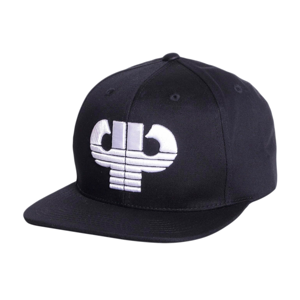 Pelle Pelle Icon Snapback Black White Sort Hvid