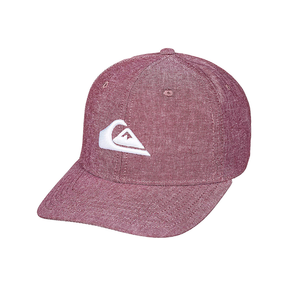 Quiksilver Charger Plus Snapback Red Rød