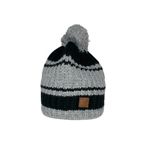 Quiksilver Shaw Beanie Black Grey Sort Grå