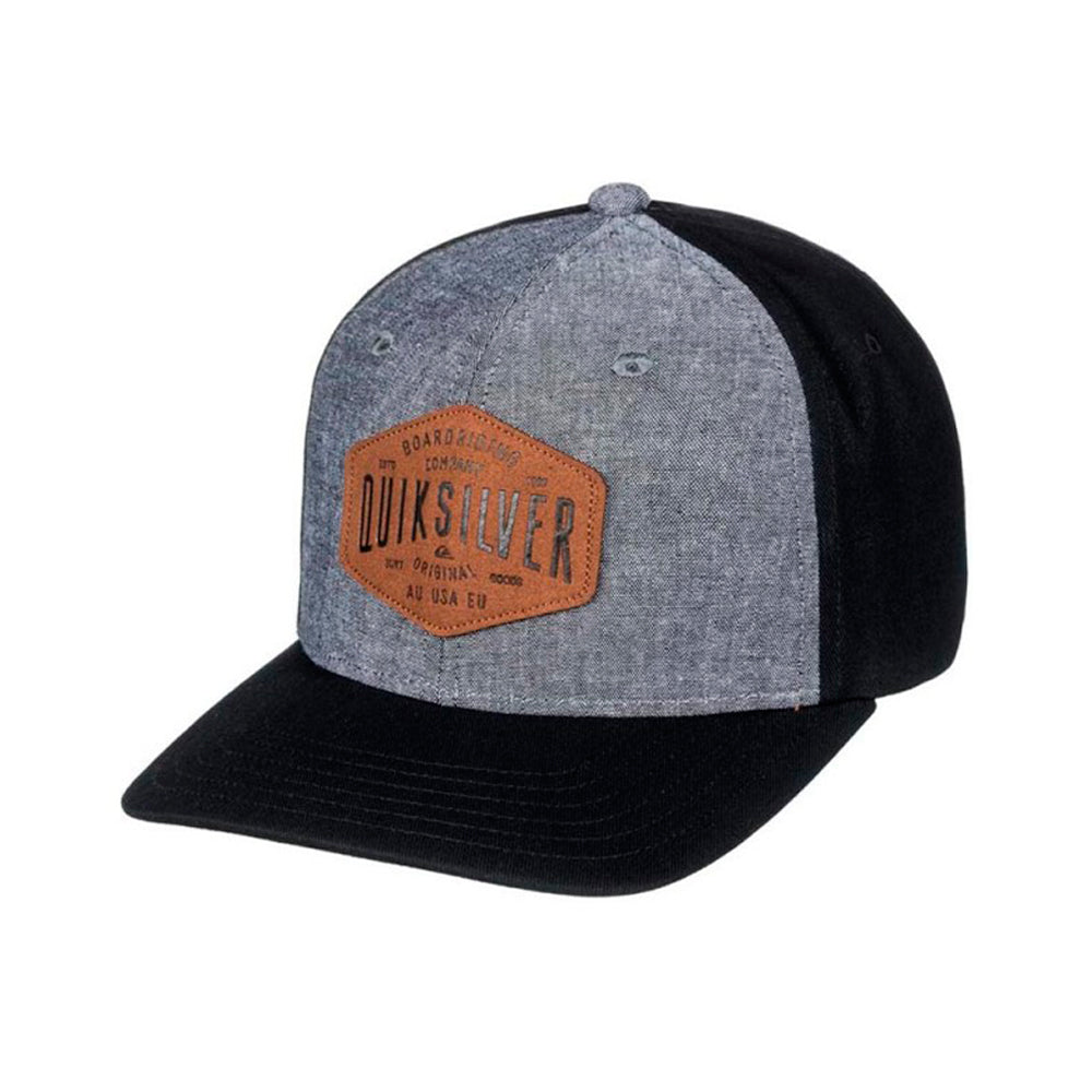 Quiksilver Sleater Vine Snapback Black Grey Sort Grå