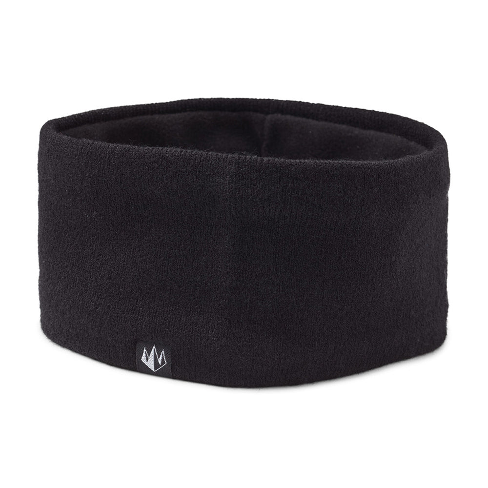State Of Wow Connor Headband w/fleece inside Hovedbånd med fleece indeni Black Sort